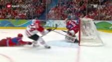 Video «Kanada demontiert Russland im Viertelfinal-Knüller» abspielen