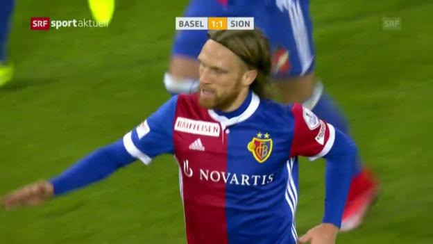 Video Basel schlägt Sion 5:1 abspielen.