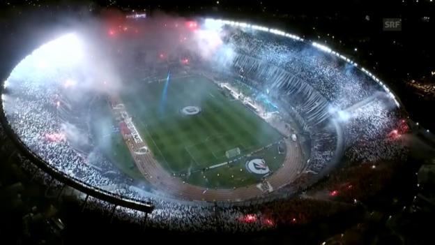 Video «Fussball: Copa Libertadores, River Plate Finalsieg» abspielen