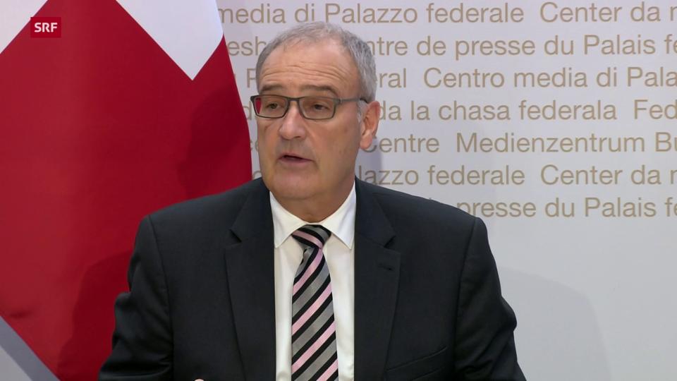 Guy Parmelin: «Spitalüberlastungen vermeiden und Schliessungen verhindern»