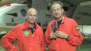 Video «Solar Impulse 2 schafft Weltumrundung ohne Treibstoff» abspielen