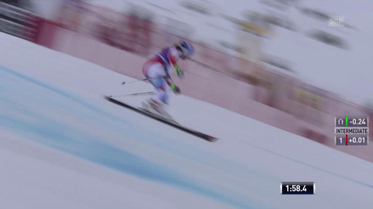 Ski: Riesenslalom Sölden, Michelle Gisins 2. Lauf