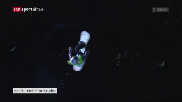 Video «Big Air: Bösiger geschlagen, Gasser historisch» abspielen