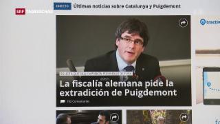 Video «Puigdemont und seine Auslieferung» abspielen