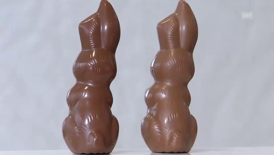 Hitzeresistente Schokolade im Test