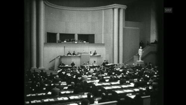 Video «Zum Schutze der Kriegsopfer (SFW vom 29.4.1949)» abspielen