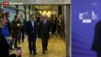 Video «Tsipras in Brüssel» abspielen