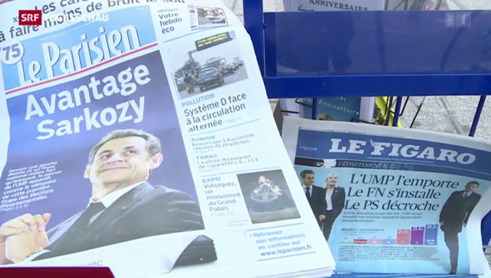 Sarkozys UMP triumphiert