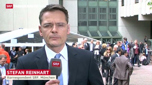 Video «SRF-Korrespondent Stefan Reinhart zum NSU-Prozess» abspielen