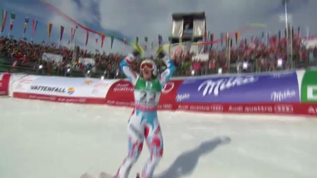 Video «WM-Abfahrt: Marion Rolland» abspielen