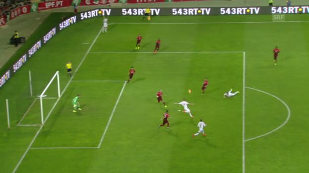 Video «Portugals letzte Pflichtspielniederlage: 2014 gegen Albanien» abspielen