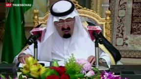 Video «König Abdullah von Saudi-Arabien gestorben» abspielen
