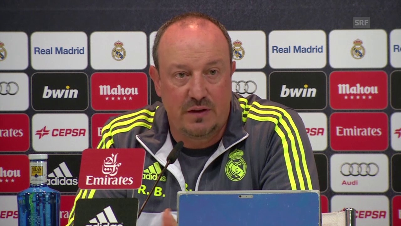 Fussball: Real Madrid - Barcelona, MK Rafael Benitez