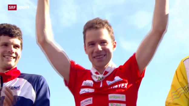 Video «OL-WM: Zweite Medaille für die Schweiz» abspielen