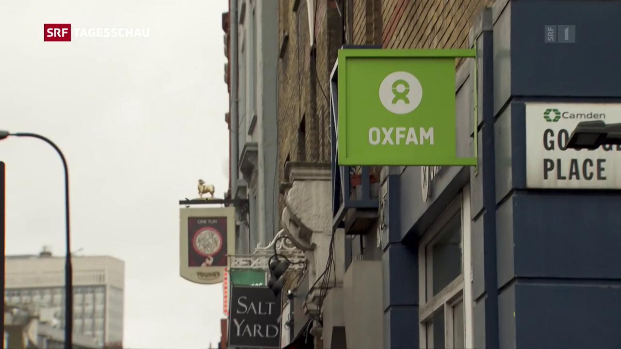 Skandal um Oxfam-Hilfsorganisation