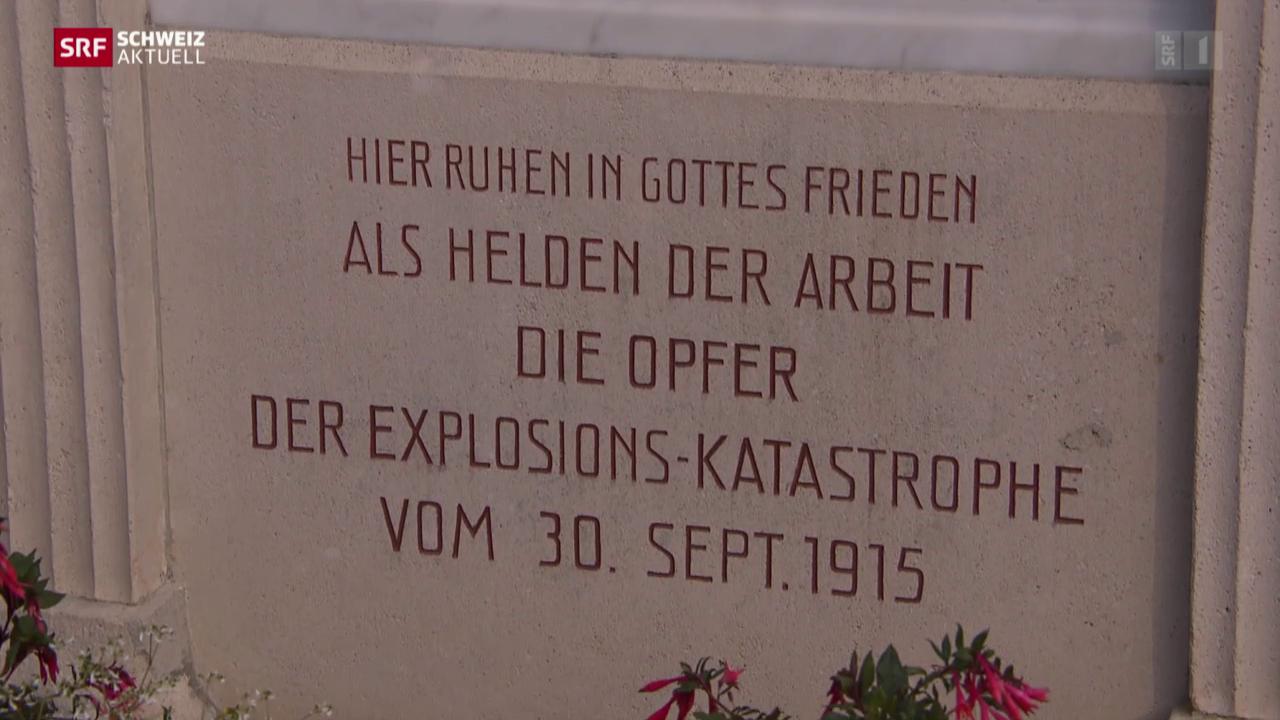 Gedenken an Brandkatastrophe
