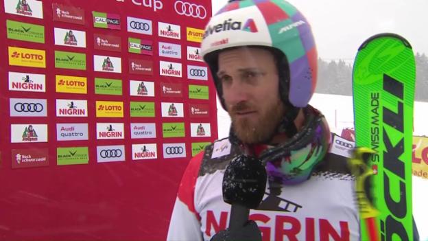 Video «Trotz Podestplatz: Skicrosser Fiva kritisiert Wertung» abspielen