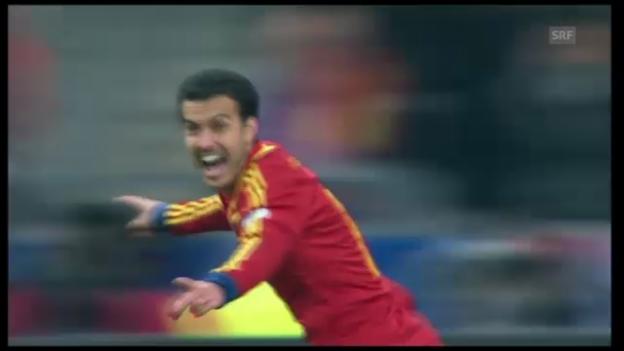 Video «Pedros Siegtreffer gegen Frankreich» abspielen