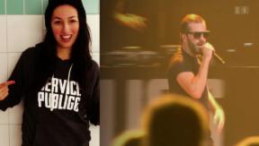 Video «Neue Liebe: Bligg zeigt seine Freundin» abspielen