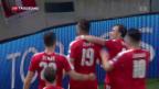 Video «Fussball: Schweiz - Lettland» abspielen