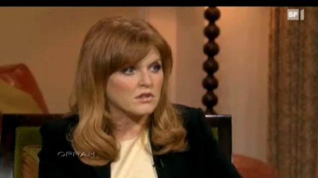 Video «Herzogin Fergie bittet um Entschuldigung» abspielen