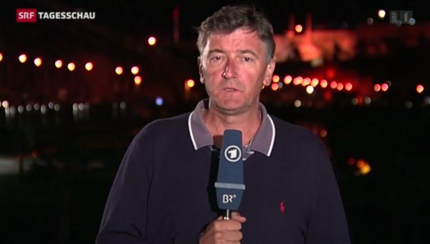 Video «Einschätzung von ARD-Korrespondent Martin Weiss» abspielen