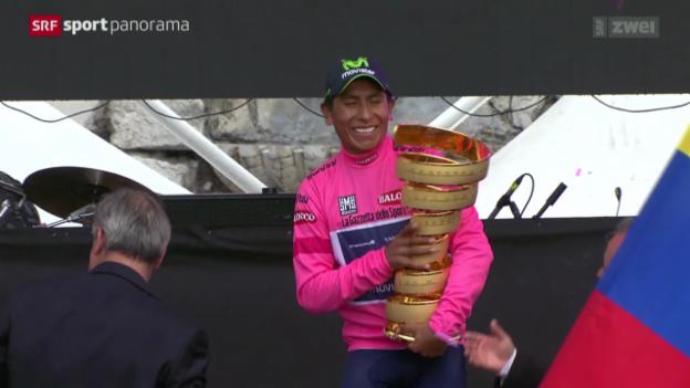 Video «Rad: Giro d'Italia 2014, 21. Etappe» abspielen