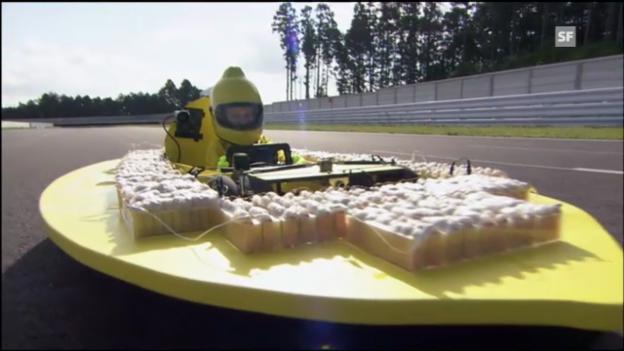 Video «Fährt ein Auto mit Zitronensaft?» abspielen