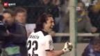Video «Fussball: Ausnahmezustand in Nikosia vor dem Champions-League-Spiel gegen Real Madrid» abspielen