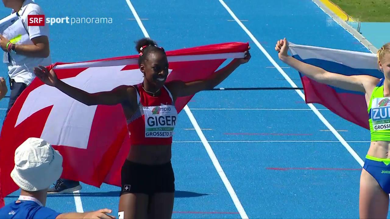 Yasmin Giger holt Gold an der U-20-EM