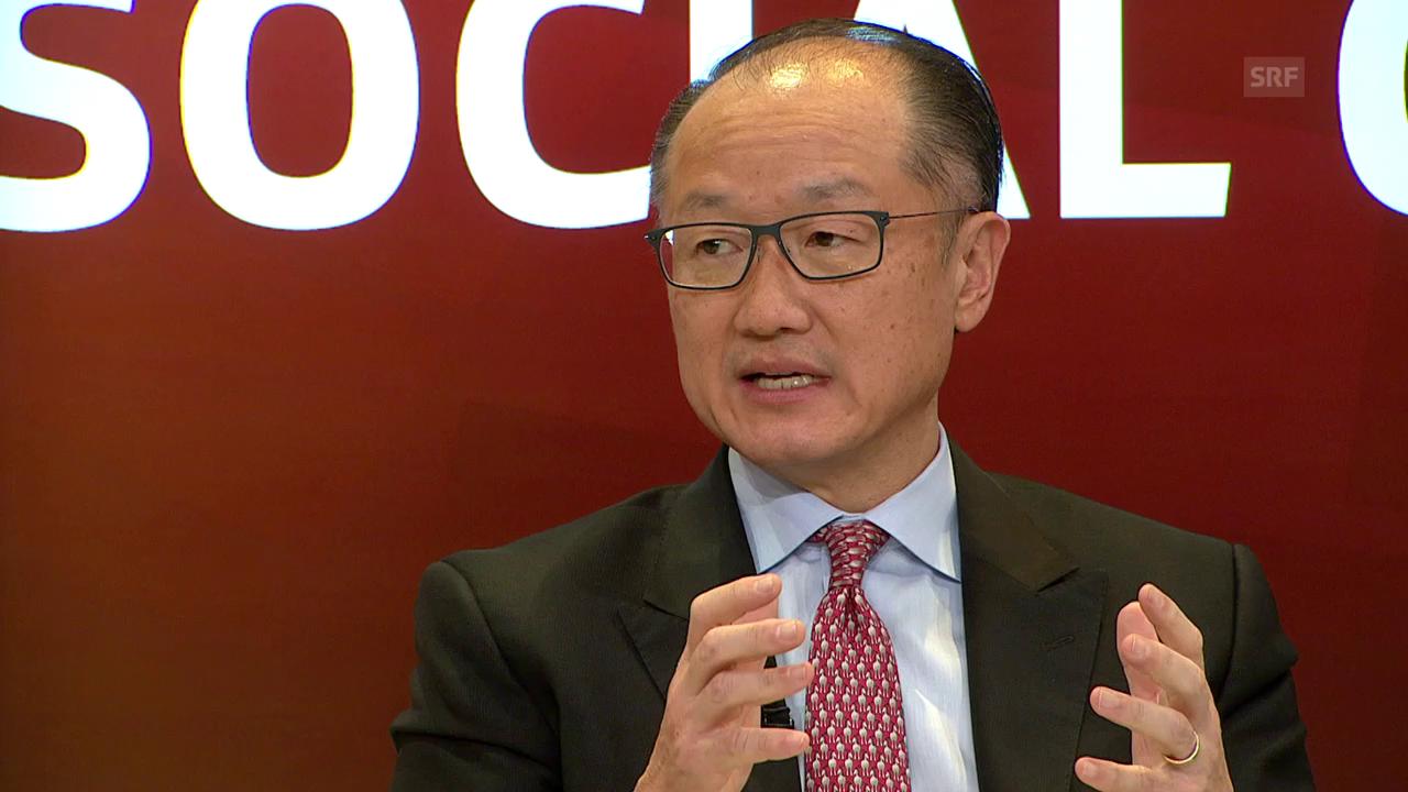 Weltbank-Präsident Jim Yong Kim zu Herausforderungen