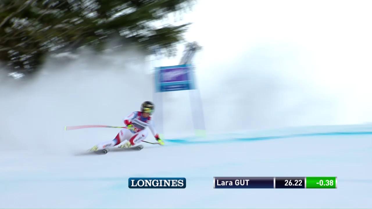 Lara Gut fährt zu ihrem 22. Weltcupsieg