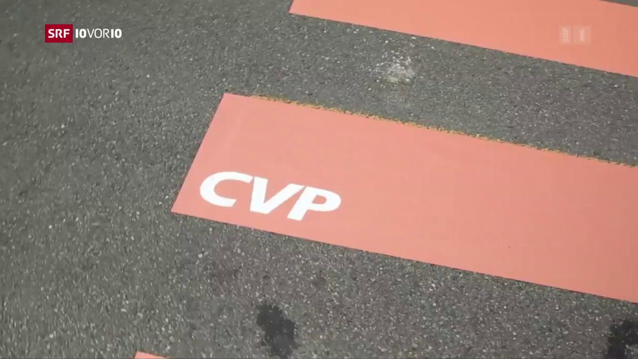 Serie: Halbzeit im Bundeshaus – Die CVP