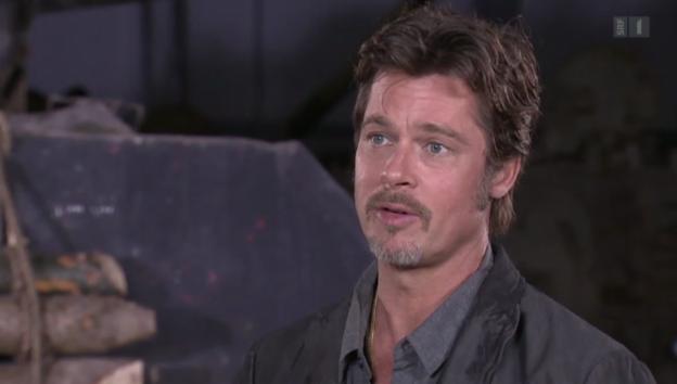 Video «Gefeierter Star: Brad Pitt in London» abspielen