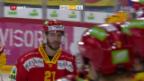 Video «Im Berner Derby setzt sich Biel gegen Langnau durch» abspielen