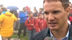 Video «Dario Cologna auf der Älggi-Alp verewigt» abspielen