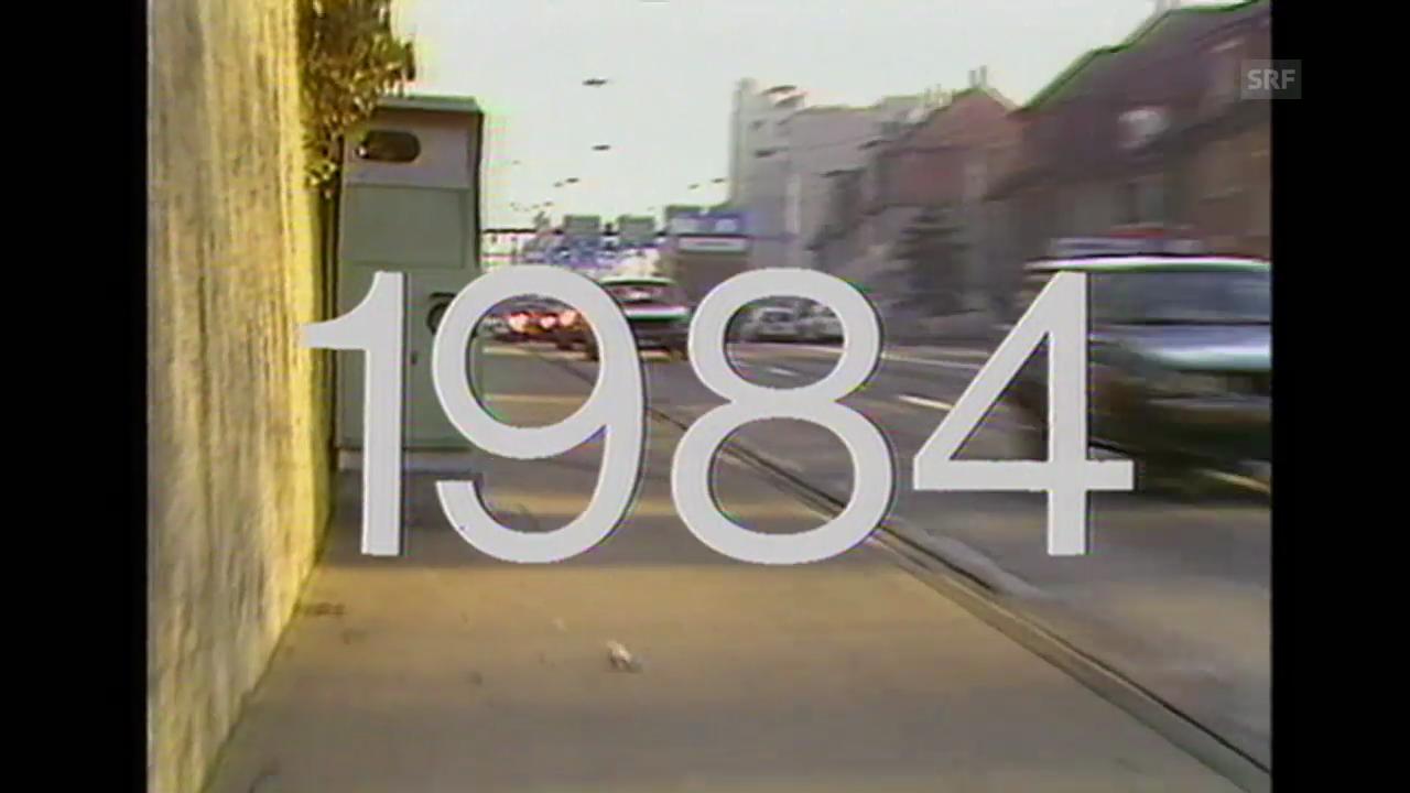 «Am Vorabend zum Orwell-Jahr», Tagesschau 31.12.1983