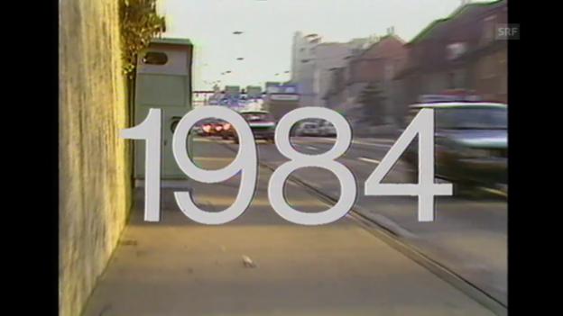 Video ««Am Vorabend zum Orwell-Jahr», Tagesschau 31.12.1983» abspielen