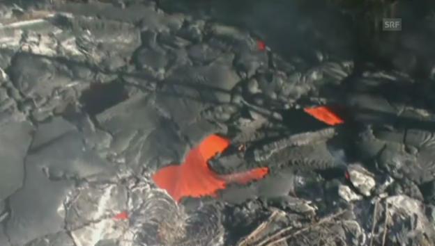 Video «Lava bedroht Orte auf Hawaii» abspielen