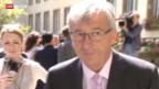 Video «Juncker will wieder antreten» abspielen