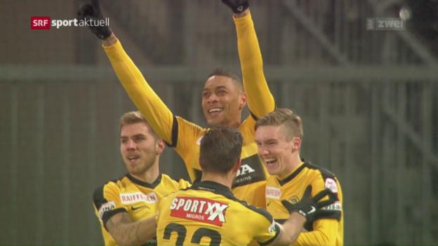 Video «YB fügt Basel die erste Saison-Niederlage zu» abspielen