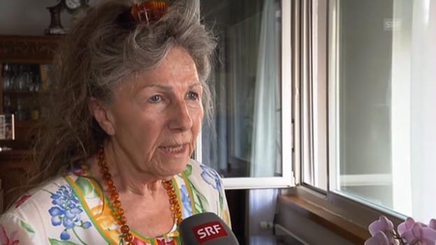 Video «Anwohnerin Gertraud Raimann: «Ich zittere jetzt noch»» abspielen