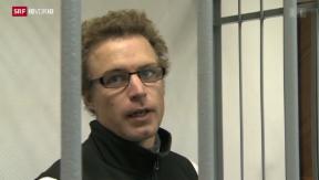 Video «Greenpeace-Aktivist hinter Gittern» abspielen
