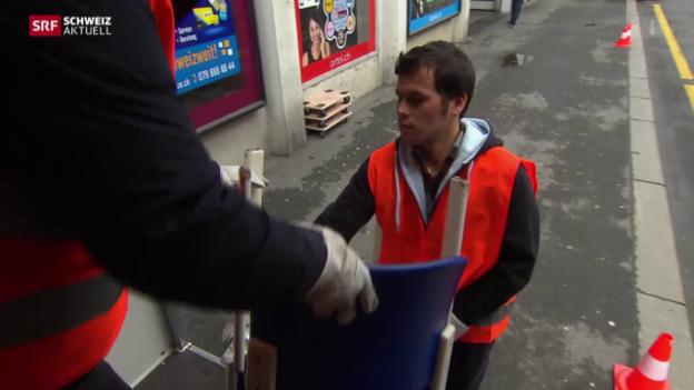 Video «Beschäftigungsprogramm für Asylsuchende» abspielen