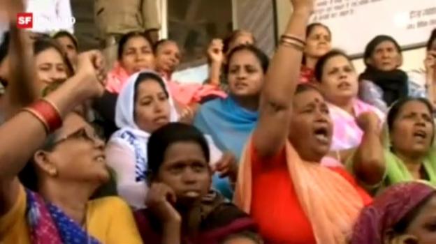 Video «Bhopal-Opfer kommen nicht zur Ruhe» abspielen