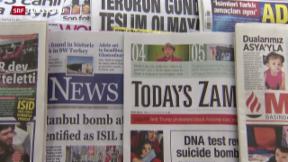 Video «Medienfreiheit in der Türkei zunehmend bedroht» abspielen