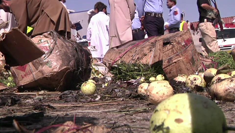 Anschlag auf einen Markt in Islamabd.
