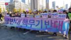 Video «Provoziert die Anwesenheit Trumps in Südkorea?» abspielen