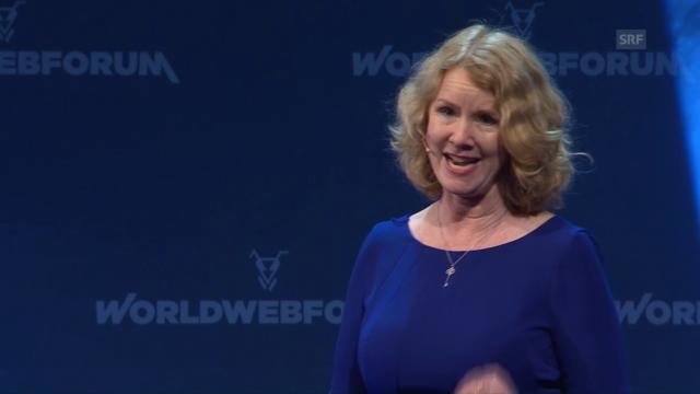 Video: Auftritt Marian Goodell, Geschäftsführerin Burning Man, am World Web Forum 2017