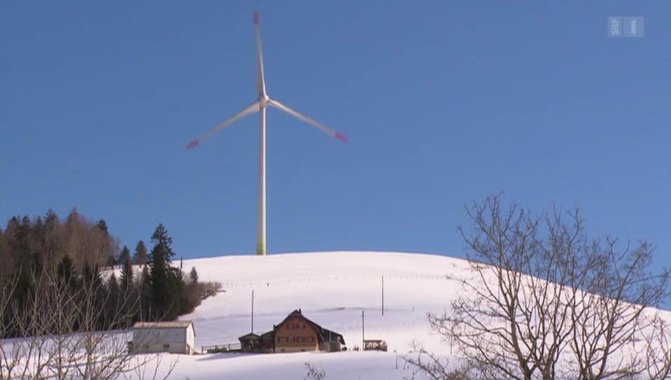 Streit um Windturbinen